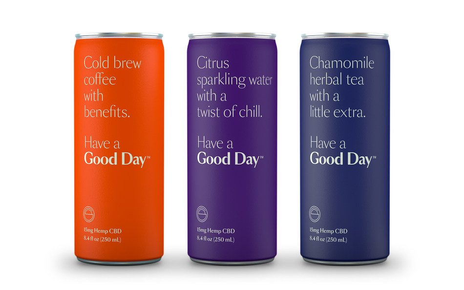 Good Day™ Launches Premium CBD-Infused Beverage Line