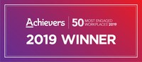 Achievers 50 Most Engaged Workplaces 2019 (CNW Group/CIBC Mellon)