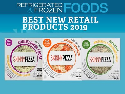 Currently SKINNYPIZZA® has 4 SKUS, Mozzarella & Provolone Cheese, Uncured Pepperoni, Gluten-Free Cheese and Cauliflower Crust Cheese Pizza.