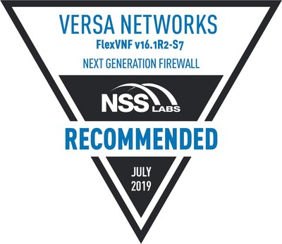 Versa Networks Achieves NSS Labs NGFW Recommended Rating