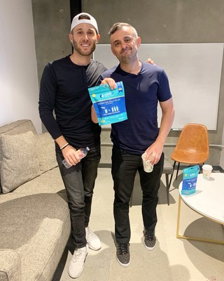 Gary Vaynerchuk, visionary business leader and Liquid I.V. investor, has strategy session with CEO Brandin Cohen in Los Angeles on July 10th.