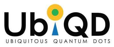 UbiQD, Inc. Logo (PRNewsfoto/UbiQD, Inc.)