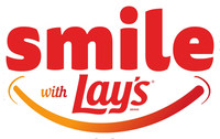 Smile with Lays Logo