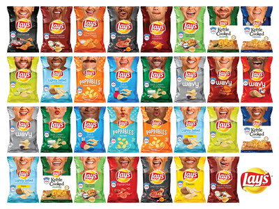 Lay's Unveils 60+ New Potato Chip Bags Starring 31 'Everyday Smilers