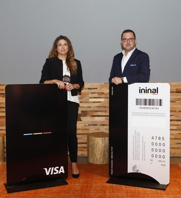 General Manager for Turkey at Visa Merve Tezel & ininal CEO Ömer Suner