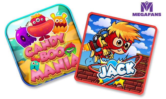 With the release of its first competitive eSports tournament games, players will now be able to earn tokens and prizes, all while playing to compete in MegaFans' upcoming annual destination tournaments. Jet Jack TE, a scrolling shooter and Candy Booo Mania TE, a puzzle match game, represent the first commercial use of the MegaFans' eSports engine in a mobile gaming app.
