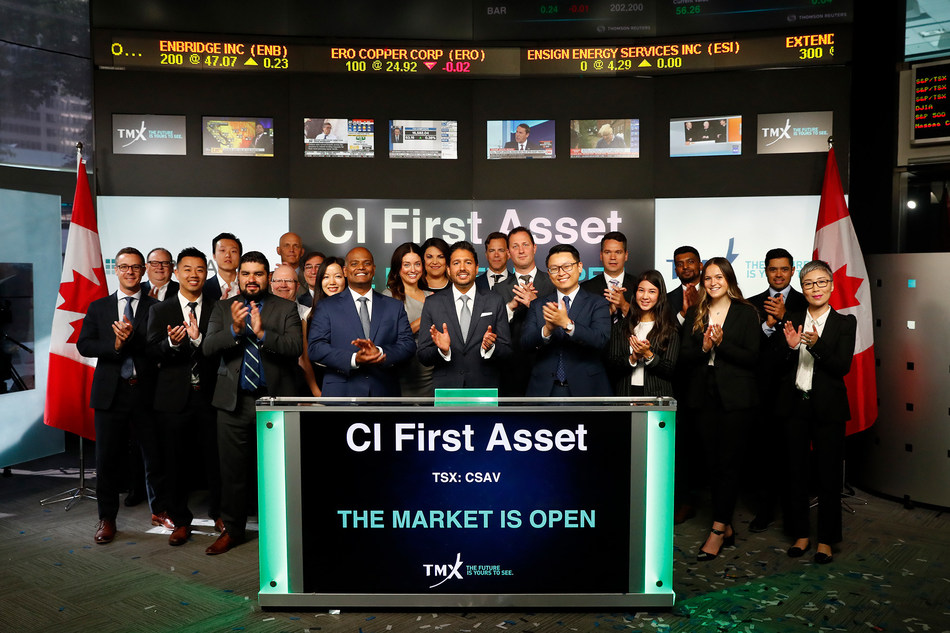 CI First Asset Opens the Market (CNW Group/TMX Group Limited)