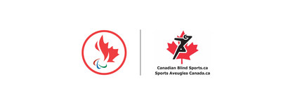 Logo : Comité paralympique canadien/L'Association canadienne des sports pour aveugles (Groupe CNW/Canadian Paralympic Committee (Sponsorships))
