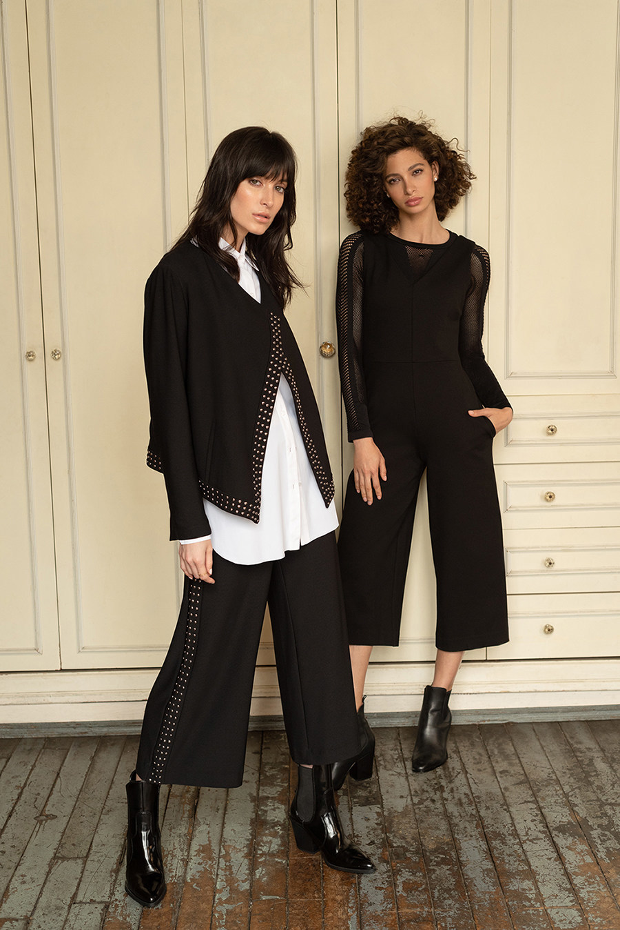 Lysse New York's new fall 2019 clothing collection -- travel-friendly tops, pants, leggings, dresses and jumpsuits -- available at www.lysse.com, August 1.