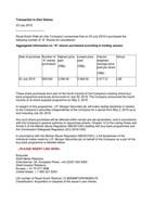 Royal Dutch Shell plc PDF
