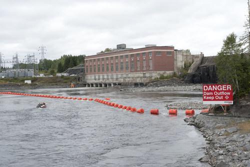 Sécurité d'abord : restez à l'écart des barrages pendant la longue fin de semaine du mois d'août (Groupe CNW/Ontario Power Generation Inc.)
