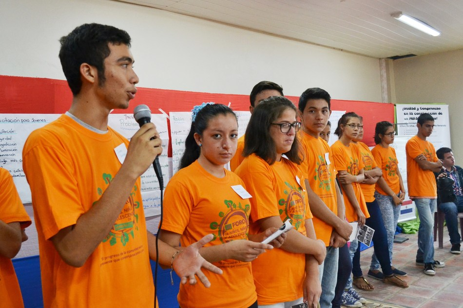 Youth from Paraguay and Canada will be among the first to become Global Youth Ambassadors in the weeks ahead and others around the world will have the opportunity in the future. (CNW Group/Christian Children's Fund of Canada)
