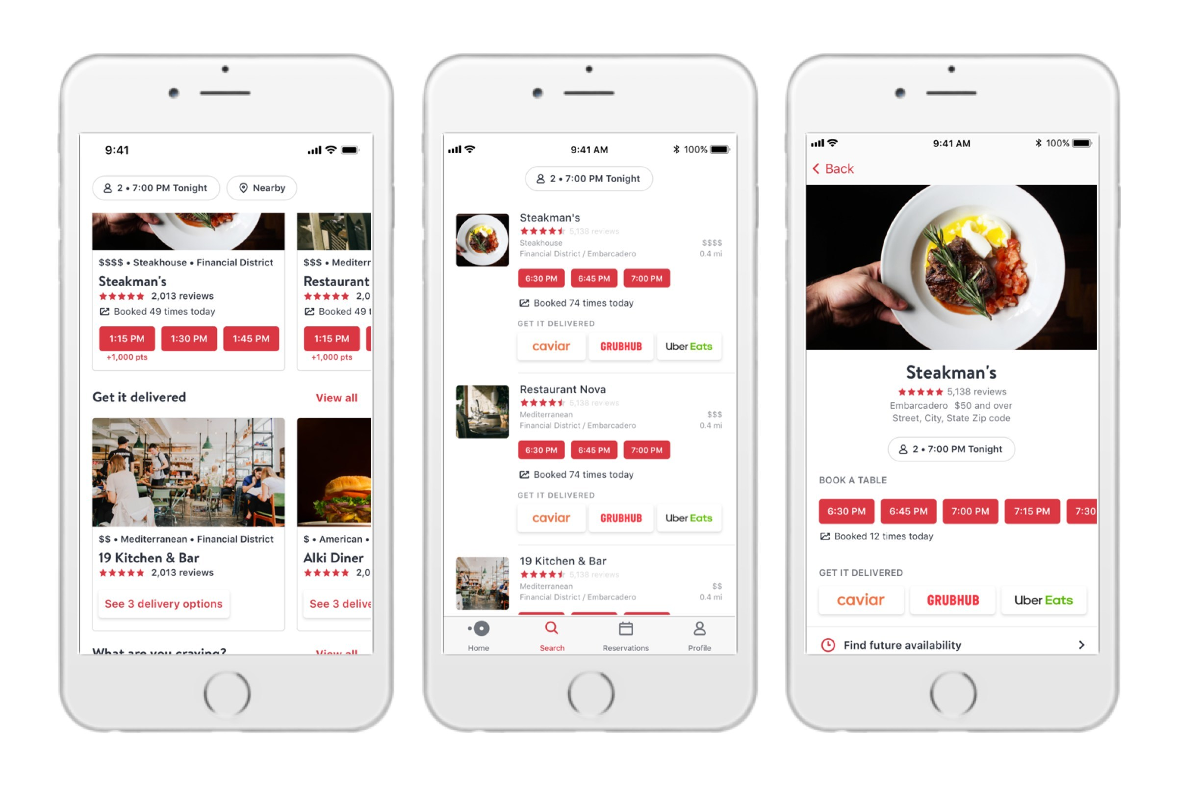 Enjoyable Opentable Adds Delivery Interior Design Ideas Clesiryabchikinfo