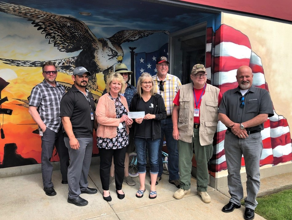 Infinite Electronics, Inc. Presents $2,500 Check to Military Support Non-Profit, Newby-ginnings of North Idaho