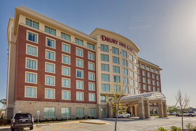 The Drury Inn & Suites Iowa City Coralville opened May 2019. Drury Hotels has been family-owned and operated since 1973.