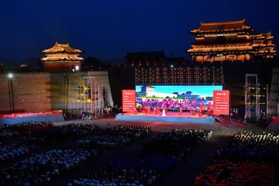 Datong, en la provincia de Shanxi, en el norte de China, dio inicio recientemente a su serie clásica de cultura y turismo Datong Yungang. (PRNewsfoto/Datong government)