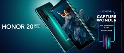 HONOR Kicks Off Global Sale of the Highly Anticipated HONOR 20 PRO