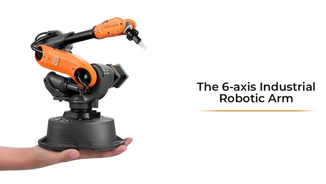 Mirobot - 6-Axis Mini-Industrial Robot Arm Now Available to