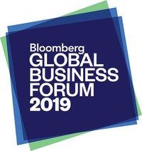 Michael Bloomberg to Host 2019 Global Business Forum on September 25, 2019, Bringing Together Heads of State and International CEOs to Address Restoring Global Economic Stability and Investing in the Transition to a Low-Carbon Economy (PRNewsfoto/Bloomberg)