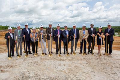Kroger and Ocado Break Ground on America's Second High-Tech Customer Fulfillment Center in Groveland, FL.