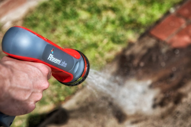 Using tankless water heating technology to provide endless hot water outdoors - whenever, wherever, HotWave makes cleaning dirt and grime easier to help save users time and effort when washing their homes, patios, vehicles, pets, and a variety of other items