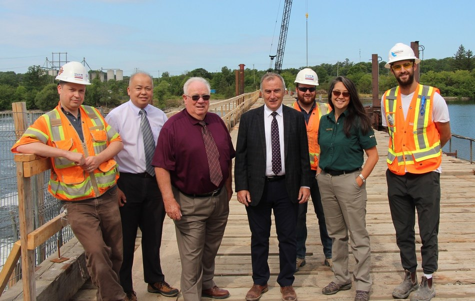 Trent-Severn Waterway National Historic Site - Dam 1 (CNW Group/Public Services and Procurement Canada)