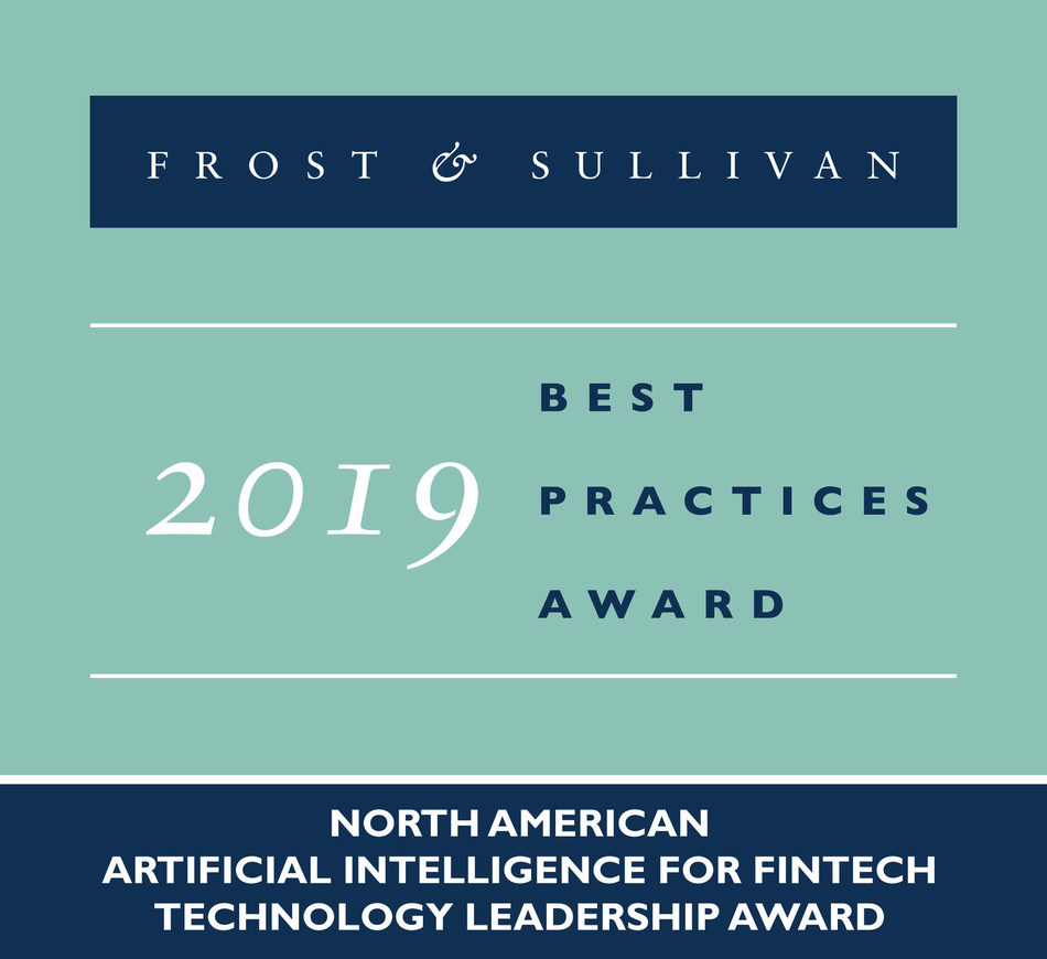 2019 North American Artificial Intelligence for FinTech Technology Leadership Award