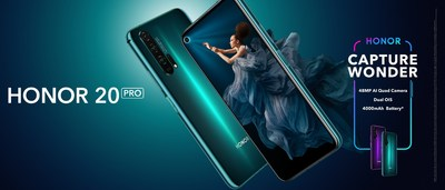 HONOR 20 PRO inicia sua venda global