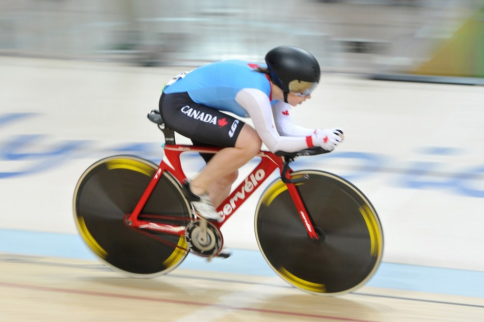 Marie-Claude Molnar will lead the Canadian team of eight Para cyclists and three pilots at the Lima 2019 Parapan Am Games. PHOTO: Canadian Paralympic Committee (CNW Group/Canadian Paralympic Committee (Sponsorships))