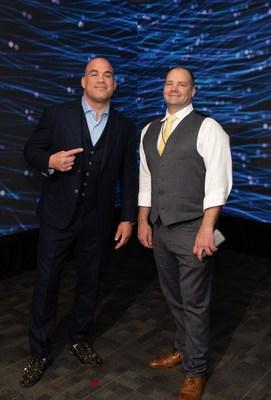 MMA Superstar Tito Ortiz and Mon Ethos President David Whitaker