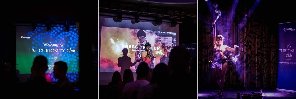 Pure360's Curiosity Club challenges marketers to improve their creativity through pioneering events unlike any other B2B Marketing event