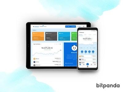 Bitpanda surpasses the 1 million users' milestone. (PRNewsfoto/Bitpanda)