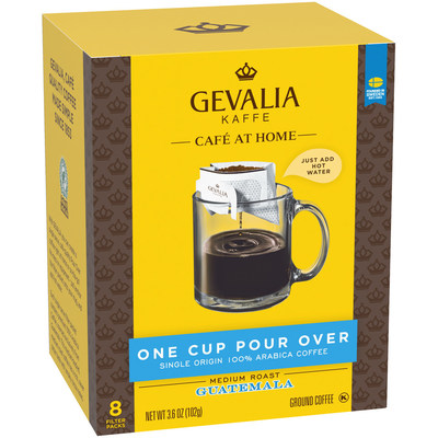 NuZee (d/b/a/ Coffee Blenders®) Announces Co-Packing Agreement For Single Serve Pour-Over Coffee With Gevalia® Kaffe, A Kraft Heinz Company Brand