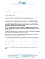 LCBO Letter (CNW Group/Ontario Public Service Employees Union (OPSEU))
