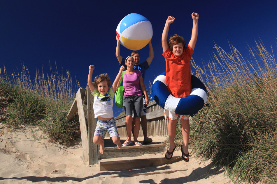 The Outer Banks Visitors Bureau cares about the safety of families at the beach. Tourism officials came up with a new series of public service announcements intended to be engaging and memorable for visitors of the coasts. courtesy outerbanks.org