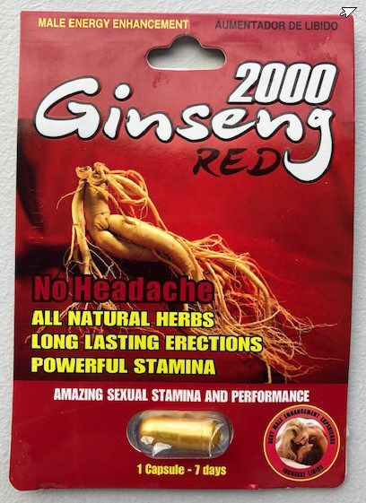 Ginseng Red 2000 (CNW Group/Health Canada)