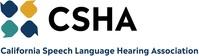 CSHA Logo (PRNewsfoto/California Speech-Language-Hear)
