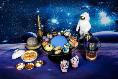 "Lift Off With Waldorf Astoria Beijing's ""Into Deep Space"" 3D Projection Afternoon Tea"