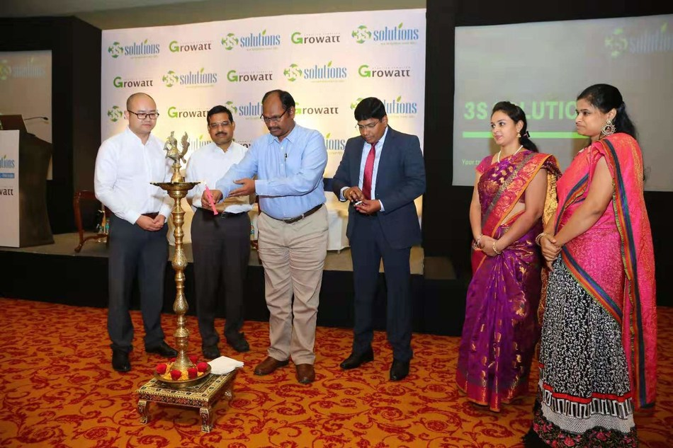 Mr. Neelam Janaiah, managing director from TSREDCO (Telangana State Renewable Energy Development Corporation Ltd.) attended the event