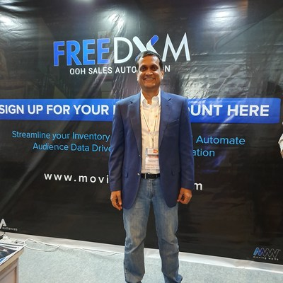 Moving Walls launched the Freedom initiative to India's leading media owners at the Outdoor Advertising Convention (OAC) 2019