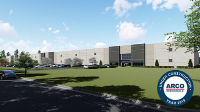 New Biolab Distribution Center Announced by Cabot Properties and Republic Property Company Under Construction by ARCO Design/Build