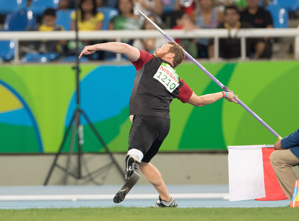 A total of 26 track and field athletes, including one guide, will be representing Canada at the Lima 2019 Parapan Am Games in Peru next month. Pictured: Alister McQueen PHOTO: Canadian Paralympic Committee (CNW Group/Canadian Paralympic Committee (Sponsorships))