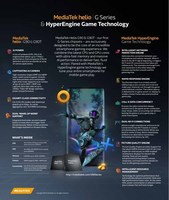 MediaTek Introduces New Helio G Series Chipsets - Helio G90 & G90T - and HyperEngine Game Technology to Power Incredible Smartphone Gaming Experiences