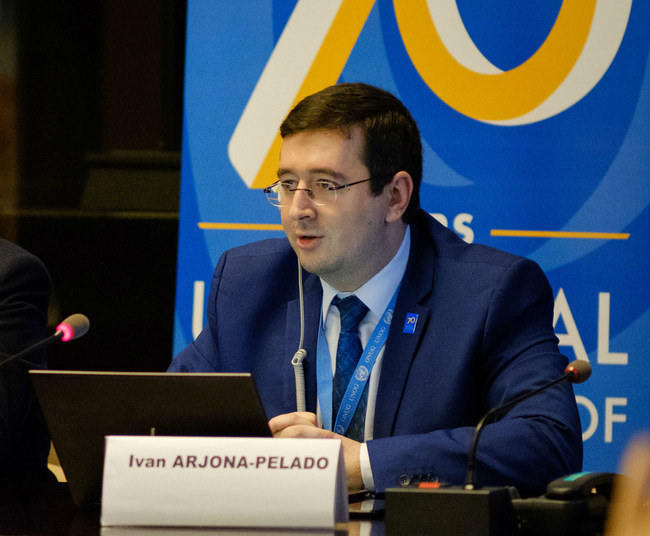 European Office for Public Affairs and Human Rights Director Ivan Arjona