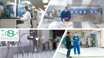 Berkshire Sterile Manufacturing revolutionized small batch drug manufacturing by incorporating robotic flexible fillers in sterilized isolators.