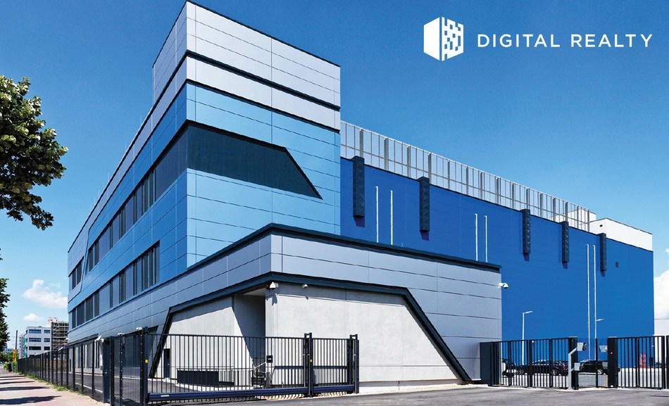 Digital Realty expands its Frankfurt presence to Hattersheim, building upon the success of its recently completed campus in Sossenheim, shown here.