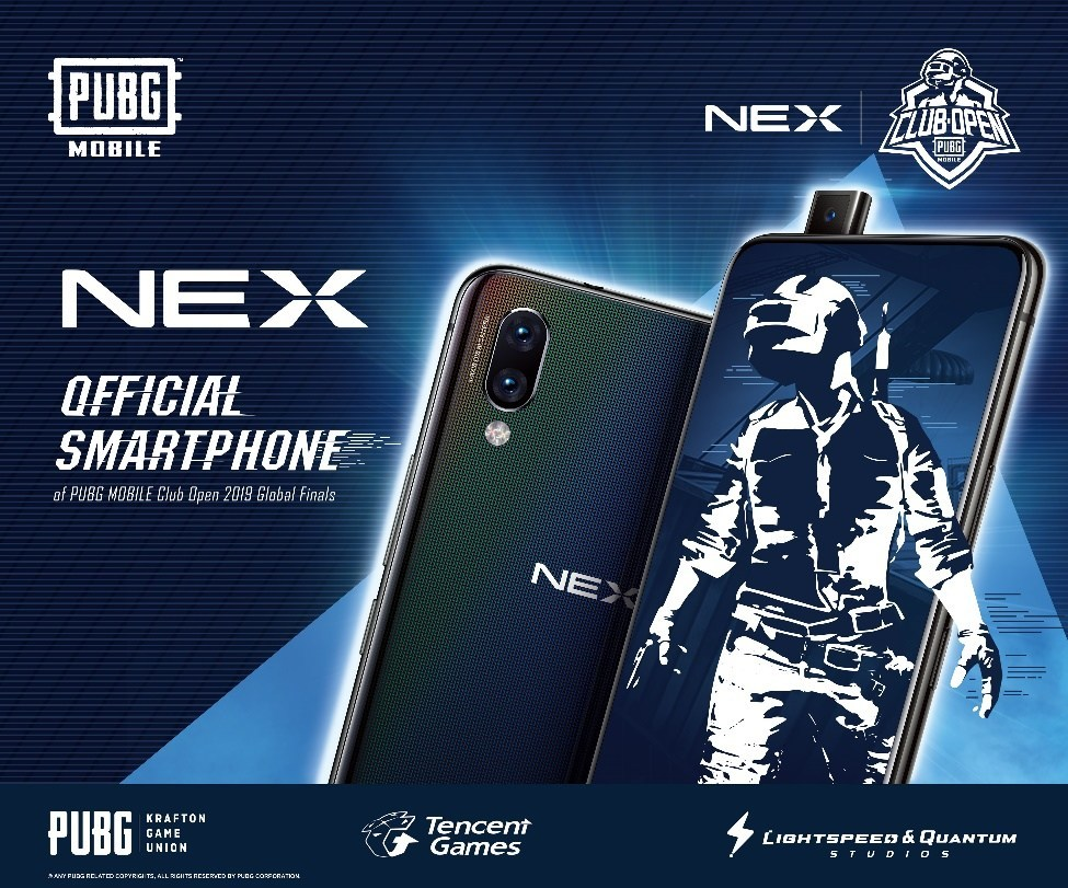 The Ultimate Gaming Upgrade of Vivo NEX Showcased at the PUBG MOBILE