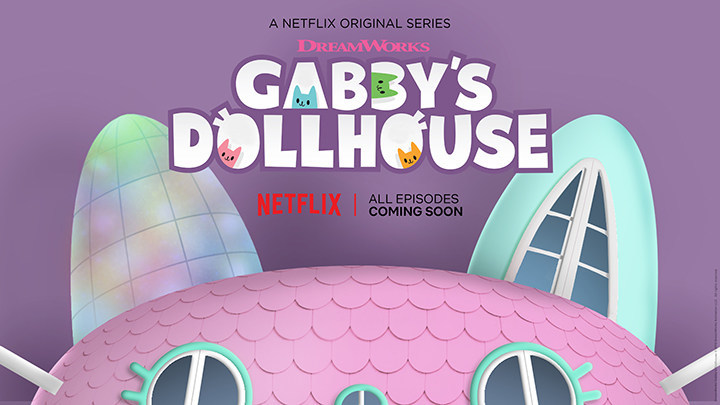 Spin Master Named Global Master Toy Partner for Gabby's Dollhouse. (CNW Group/Spin Master)