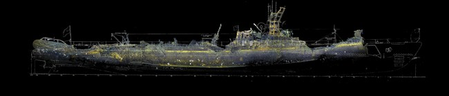 USS Grunion Stern Section (PRNewsfoto/Lost 52 Project)