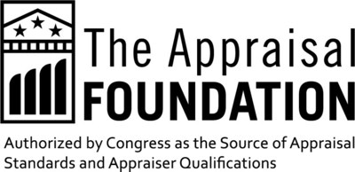 The Appraisal Foundation is the nation's foremost authority on the valuation profession. The organization sets the Congressionally-authorized standards and qualifications for real estate appraisers, and provides voluntary guidance on recognized valuation methods and techniques for all valuation professionals, including personal property appraisers and business valuation. This work advances the profession by ensuring appraisals are independent, impartial, and objective. appraisalfoundation.org (PRNewsfoto/The Appraisal Foundation)